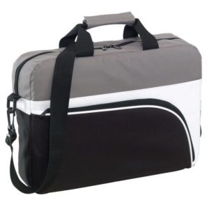 "Laptop bag ""Narvik"", цвет black white grey"