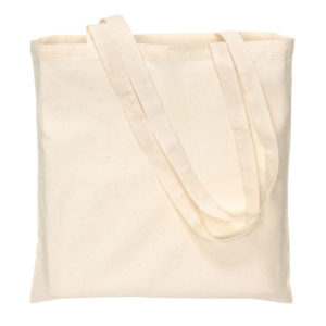 "Cotton bag ""Pure"" with long handles, цвет beige"