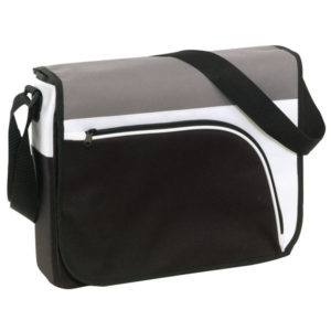 "Shoulder bag ""Narvik"", цвет black white grey"