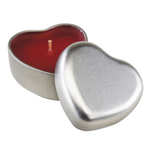 "Vanilla perfumed candle ""Good spirits"", цвет red silver"