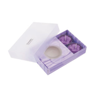 "Candle set ""Essence"", цвет lavender"