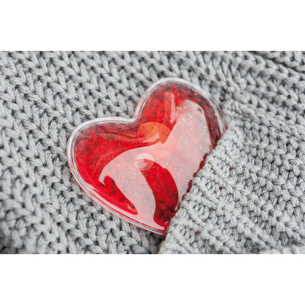 Pocket warmer «Warm hearted», цвет red