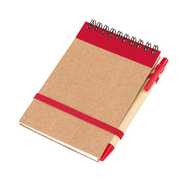 Note book «Recycle», цвет red
