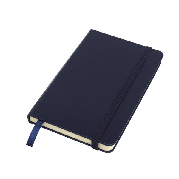 Notebook «Attendant» in DIN A6 format, цвет navy blue