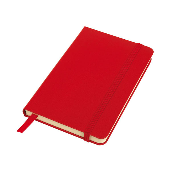 Notebook «Attendant» in DIN A6 format, цвет red