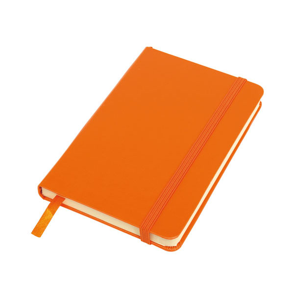 Notebook «Attendant» in DIN A6 format, цвет orange
