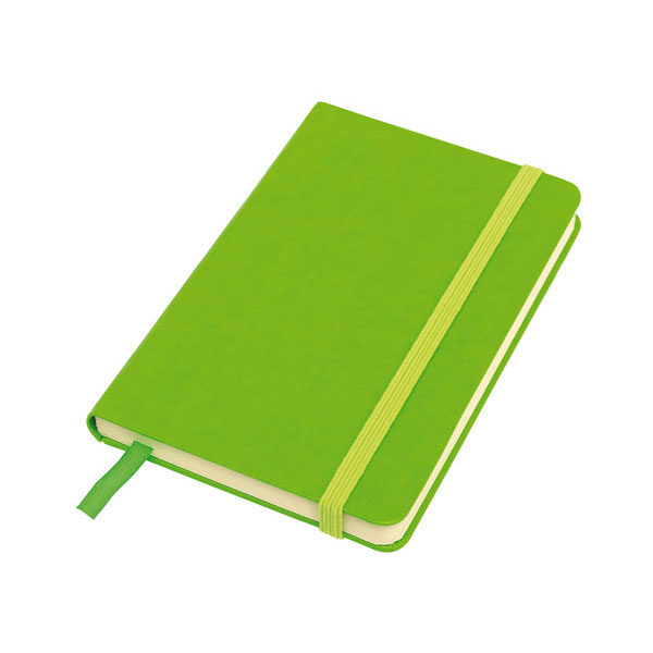 Notebook «Attendant» in DIN A6 format, цвет green