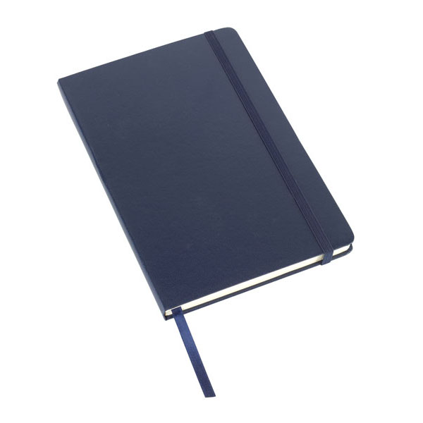 Notebook «Attendant» in DIN A5 format, цвет navy blue