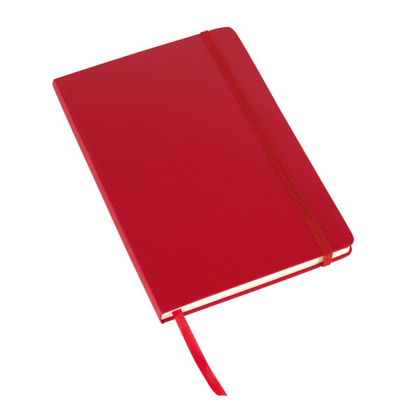Notebook «Attendant» in DIN A5 format, цвет red