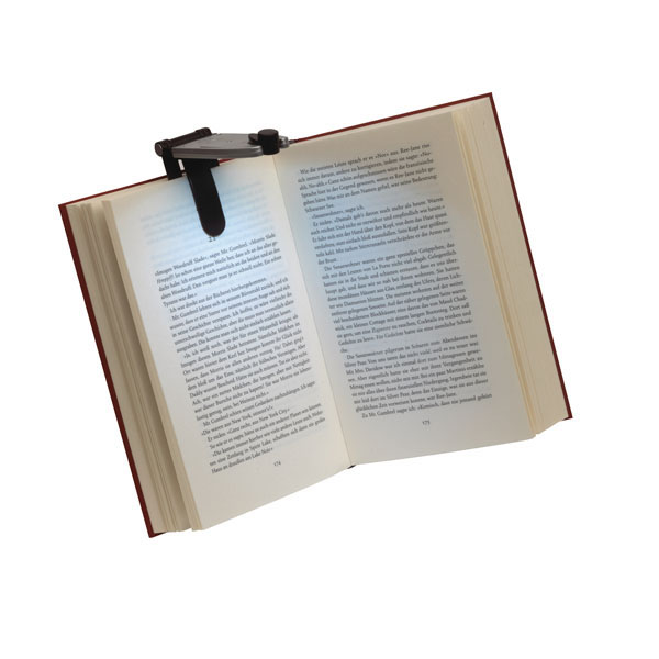Fold-out reading torch «Read it», цвет silver black