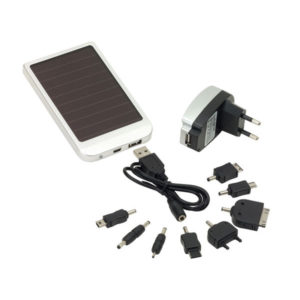 "Solar panel charger ""Sunshine"", цвет silver"