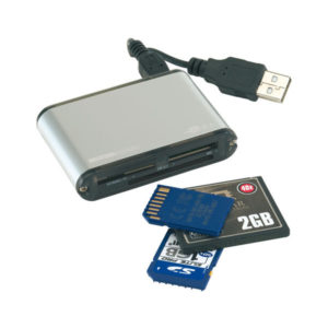 "Multi card reader ""35in1"", цвет black silver"