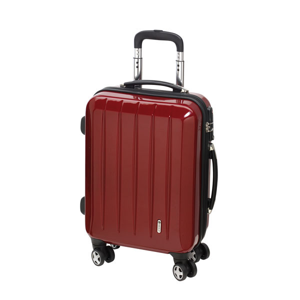 Trolley-Set «London» with TSA-lock, цвет carbon red