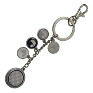 Key ring Naïades Perle