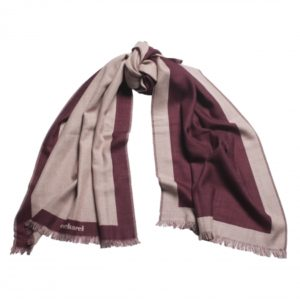 Scarf Bird Bordeaux