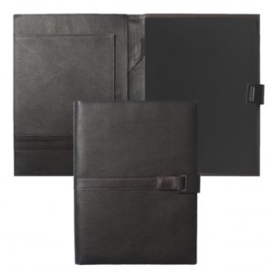 Folder A4 Pure Leather Brown