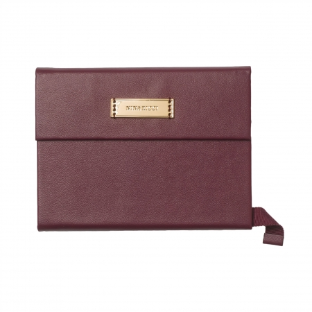 Note pad A6 Evidence Burgundy