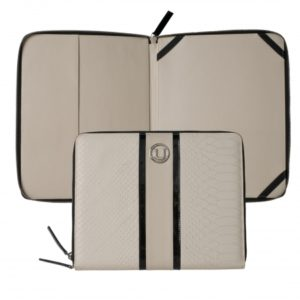 iPad pouch Pitone Cream