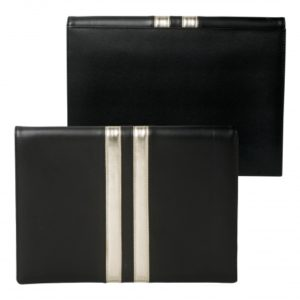 iPad pouch Sienna Black & Gold
