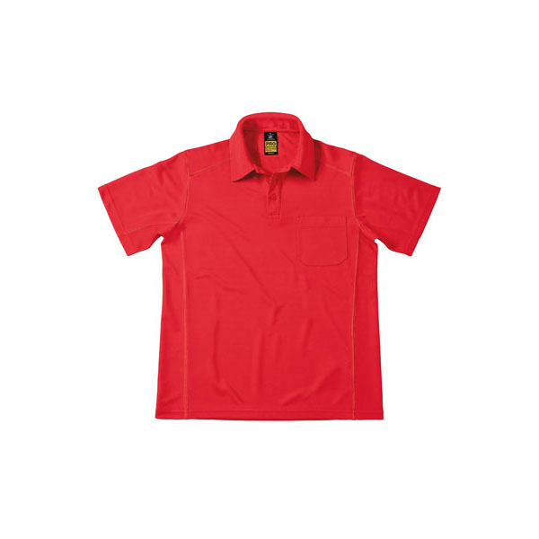 B&C CoolPower Pro Polo, цвет Red