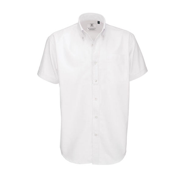 B&C Oxford SSL /men, цвет White