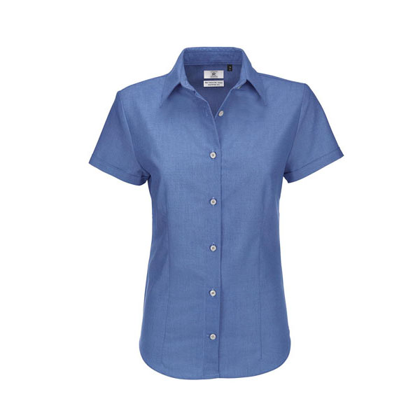 B&C Oxford SSL /women, цвет Blue Chip