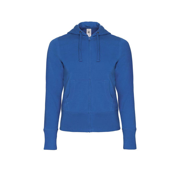 B&C Hooded Full Zip /women, цвет Royal Blue